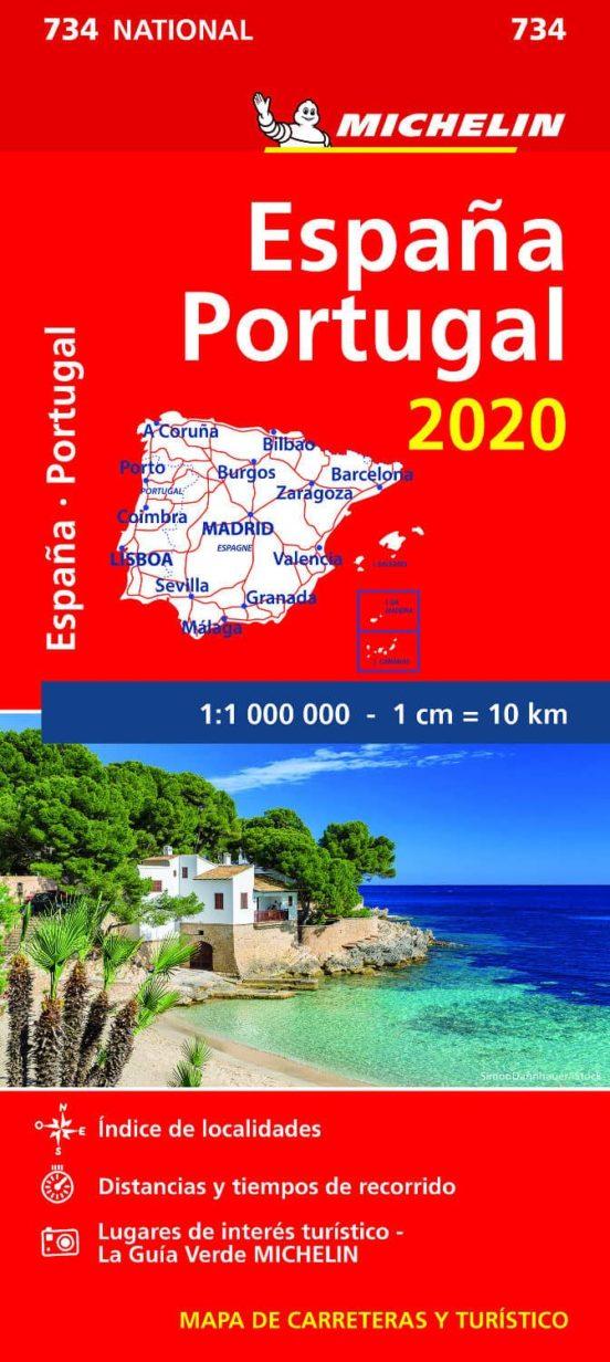 España, Portugal 734 (1:1.000.000)