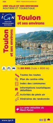 Toulon, et ses environs 1:100.000