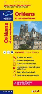 Orléans et ses environs 1:80.000