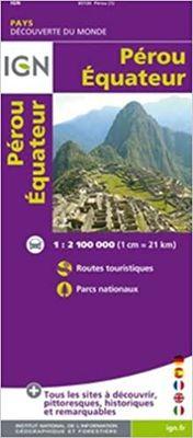 Perú, Ecuador 1:2.100.000