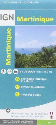 Martinique 1:75.000