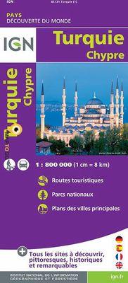 Turkey Cyprus (1:800.000)