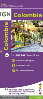 Colombia 1:1.700.000
