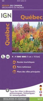 Québec 1:1.500.000