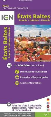 Baltic States 1:800.000