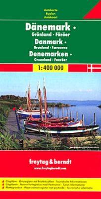 Denmark,Groenland, Faeroer (1:400.000)