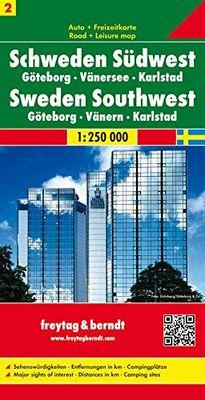 Sweden Southwest 2 (1:250.000)