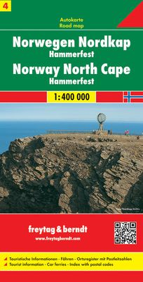 Norway 4: North (1:400.000)