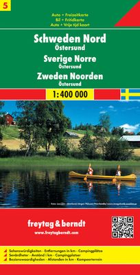 Sweden Northern (1:400.000)