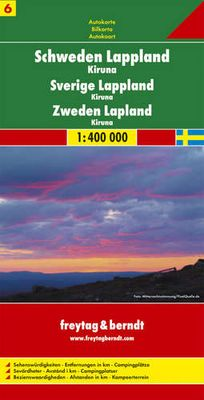 Sweden Lapland 6 (1:400.000)