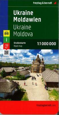Ukraine, Moldova (1:1.000.000)