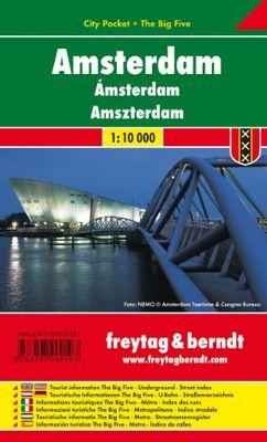 Amsterdam City Pocket (1:10.000)