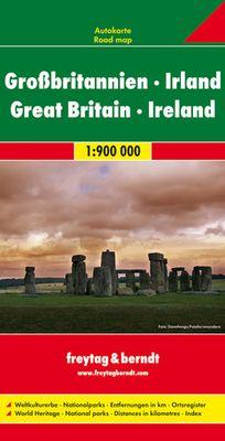 Gran Bretaña (1:700 000)