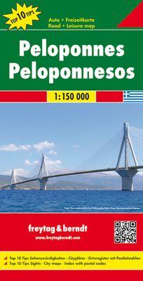 Peloponeso (1:150.000)