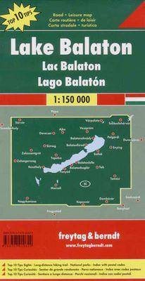 Lake Balaton (1:150.000)