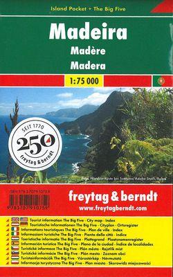 Madeira Island Pocket (1:75.000)