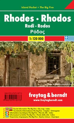 Rodas Island Pocket + The Big Five (1:120.000)
