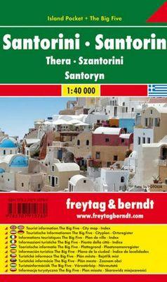 Santorini Island Pocket + The Big Five (1:40.000)