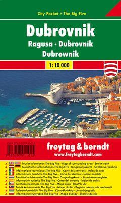 Dubrovnik City Pocket 1:10000