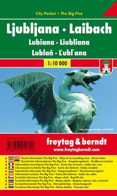Ljubljana City Pocket (1:10.000)