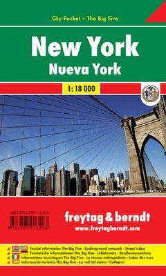 Nueva York City Pocket (1:18.000)