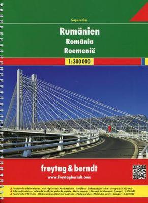 Superatlas Rumanien Romania Roemenie (1:300.000)