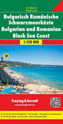 Costa Bulgaria Mar Negro 1:150.000