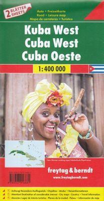 Cuba West & East  1:400.000. 2 mapas