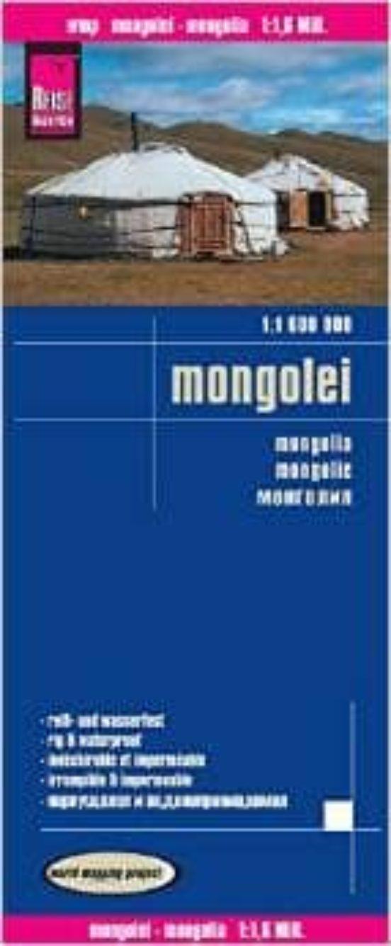 Mongolia (1:1.600.000)