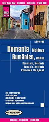 Romania & Moldavia (1:600.000)
