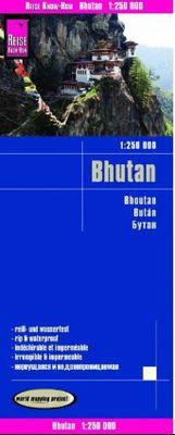 Bhutan 1:250.000