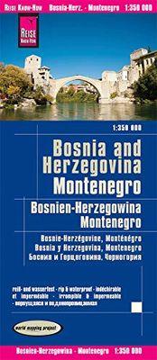Bosnien-Herzegowina 1:350.000