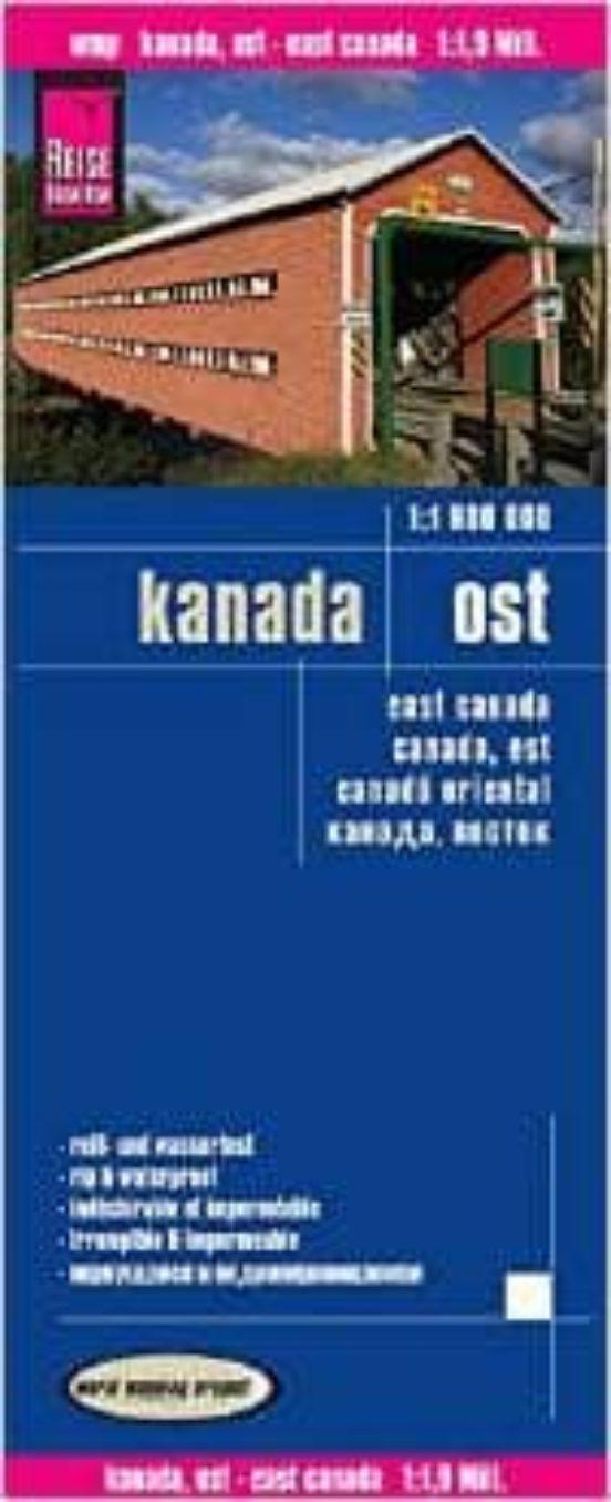 East Canada (1:1.900.000)
