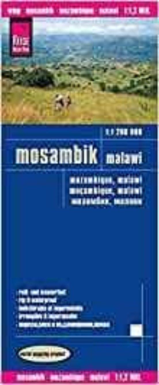 Mozambique, Malawi (1:1.200.000)