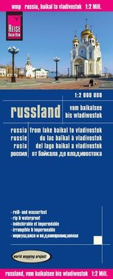 Rusia, del lago Baikal a Vladivostok  (1:2.000.000)