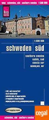 Southern Sweden (1:500.000) Schweden Süd