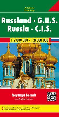 Rusia / CEI / Federación Rusa (1:2.000.000/1:8.000.000)