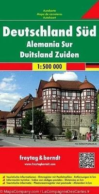 Germany South (1:500.000)