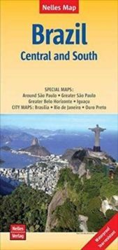 Brazil Central and South (1:2.500.000)