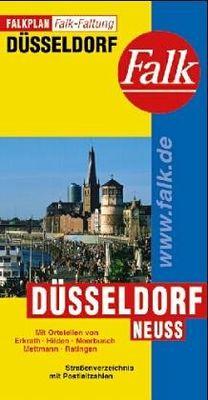 Dusseldorf Stadtplan (1:23.500)