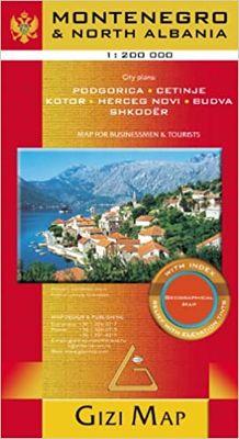 Montenegro & North Albania (1:200.000)