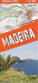 Madeira 1:50 000 Comfort Map Trekking Map