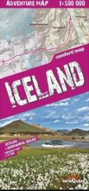 Iceland 1:500.000 adventure map