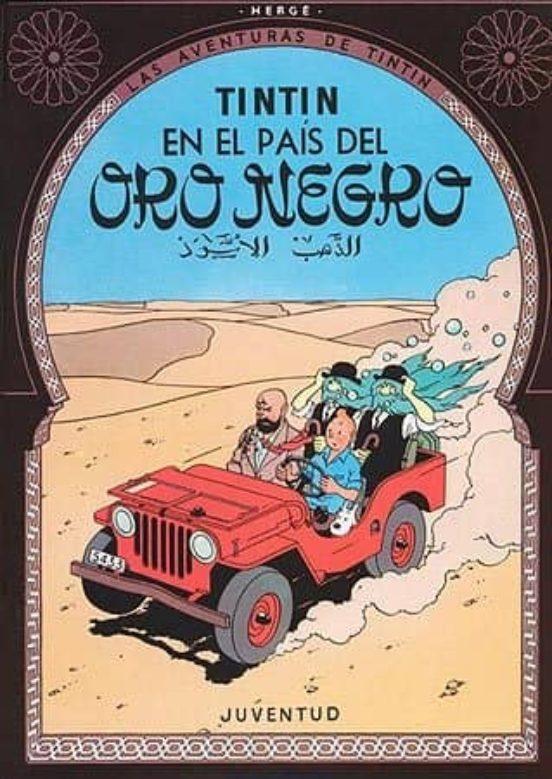 Tintin en el país del oro negro