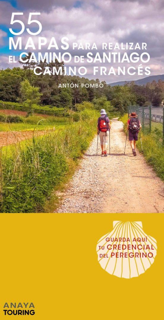 55 mapas para realizar el camino de Santiago francés