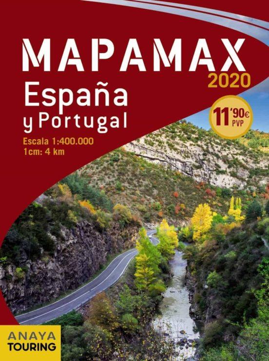 Mapamax España y Portugal (1:400.000) 2020
