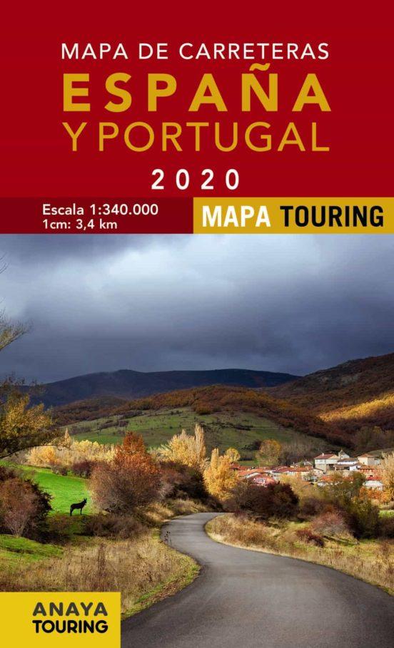 Mapa de carreteras. España y Portugal  (1:340.000) 2020