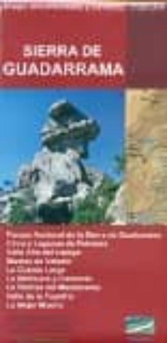 Sierra de Guadarrama. Mapa excursionista y turístico 1:30.000