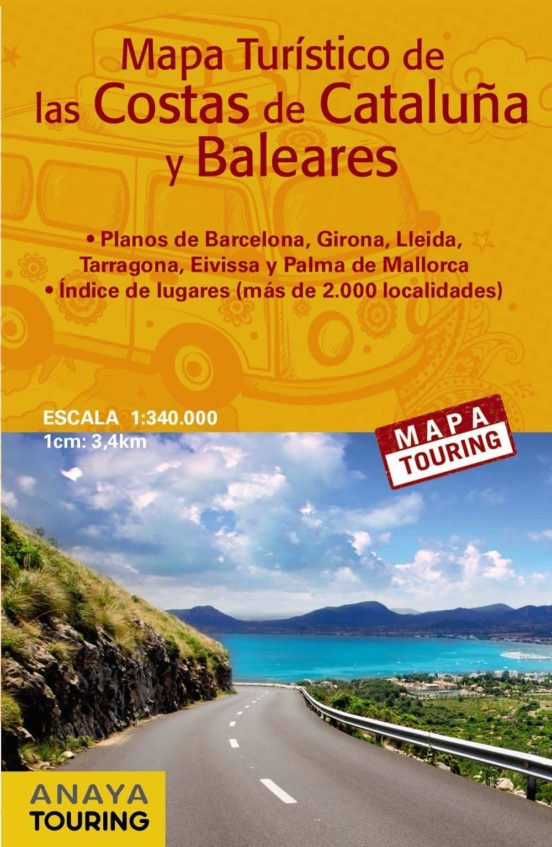 Costas de Cataluña y Baleares